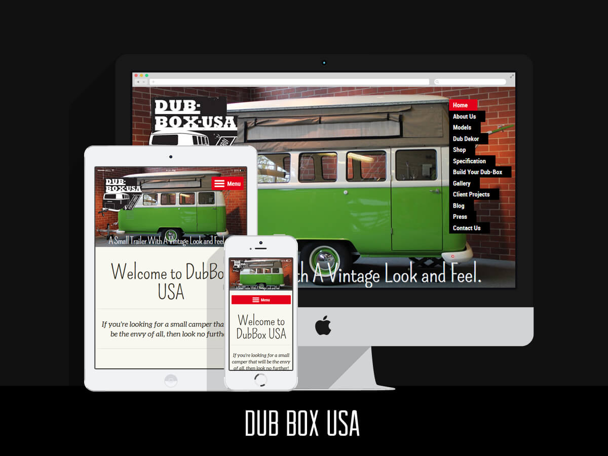 Dub Box USA - Web Design