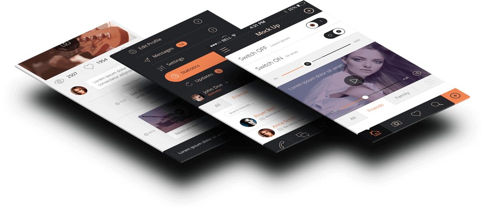 App Development - User Interface Design - UX