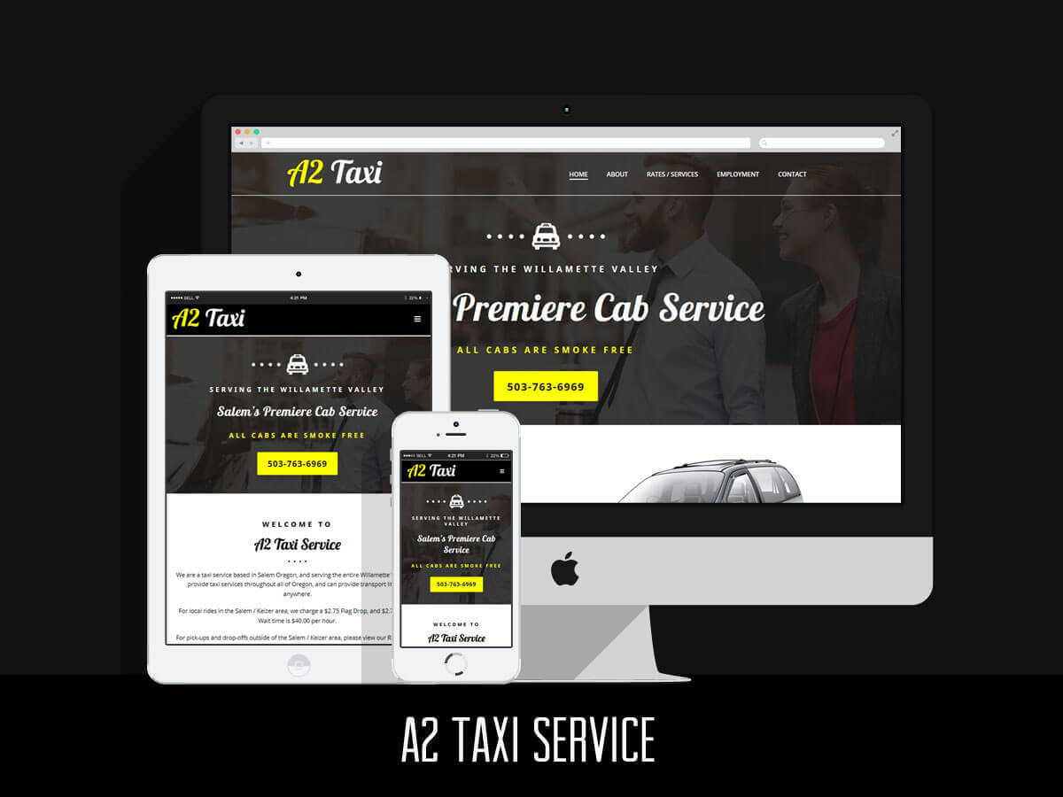 Web Design & SEO - A2 Taxi Service