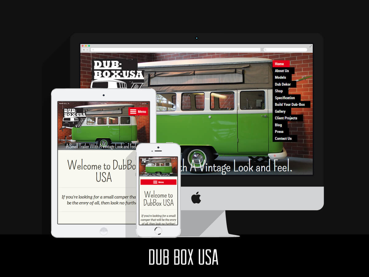 Web Design - Dub Box USA
