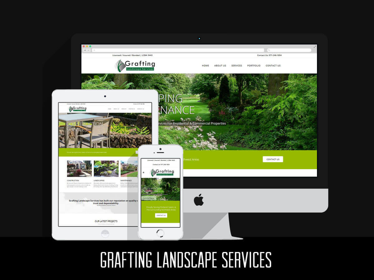 Web Design - Grafting Landscape