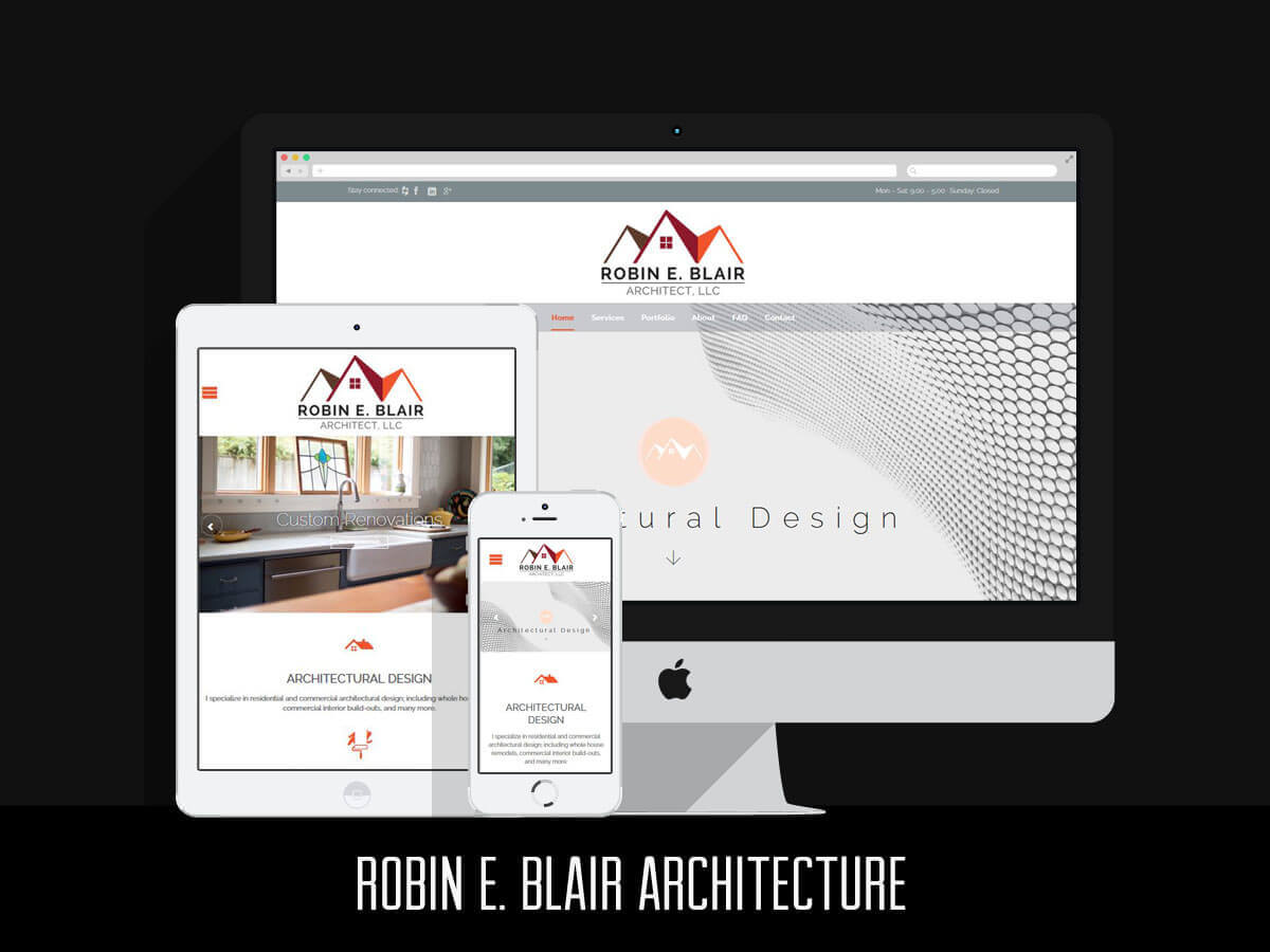 Web & Graphic Design - REB Architecture