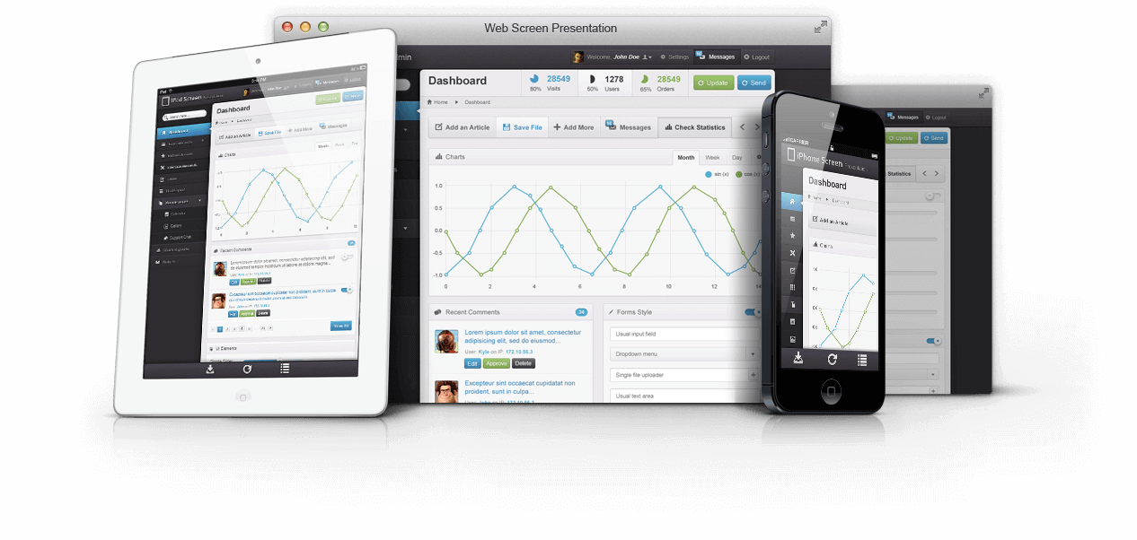 Century Seven - Responsive Web Design