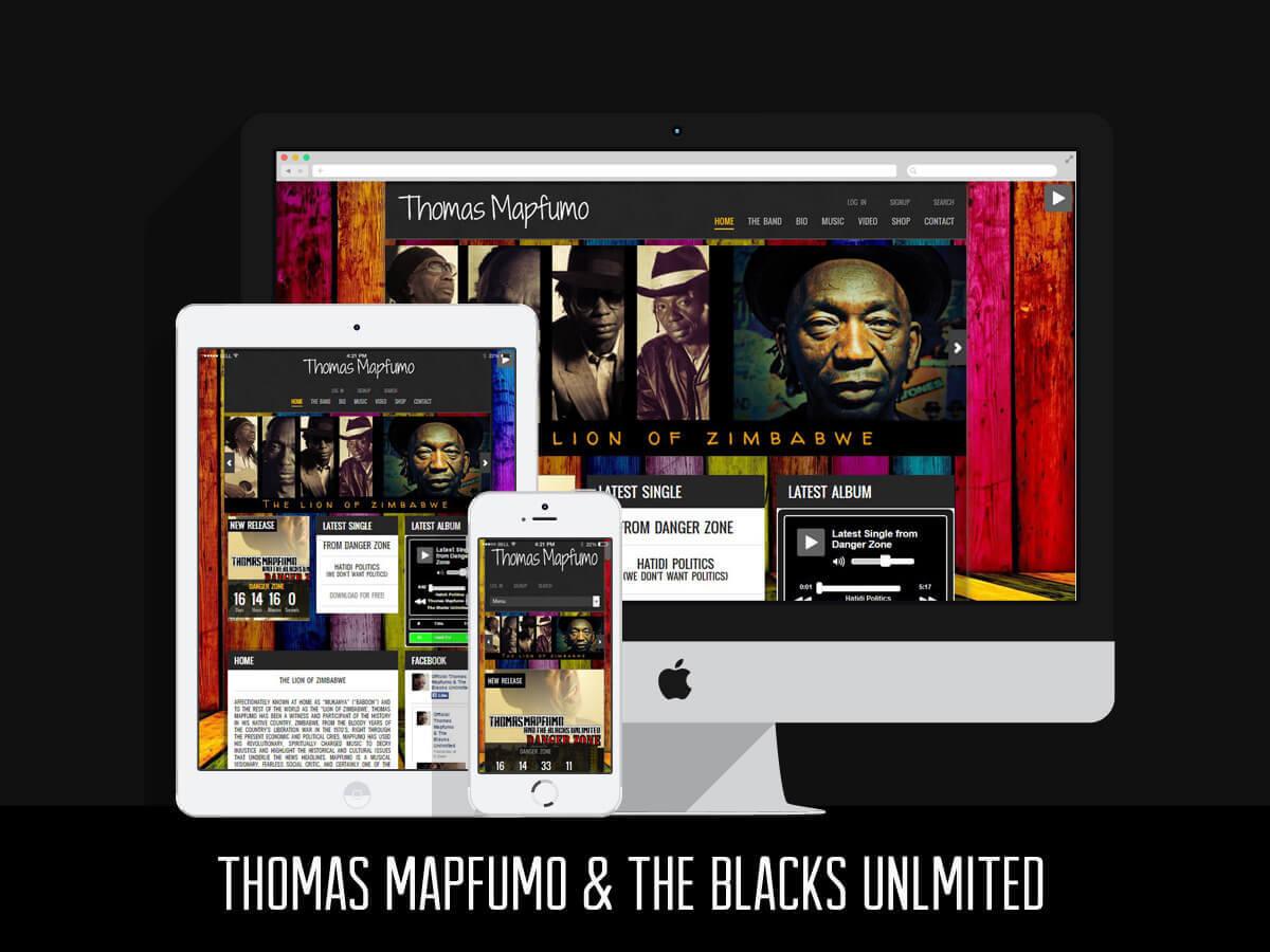 Web Design & SEO - Thomas Mapfumo